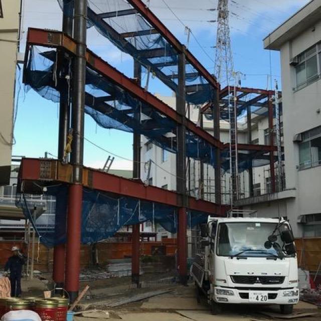 豊田市立元城小学校バリアフリー化整備工事