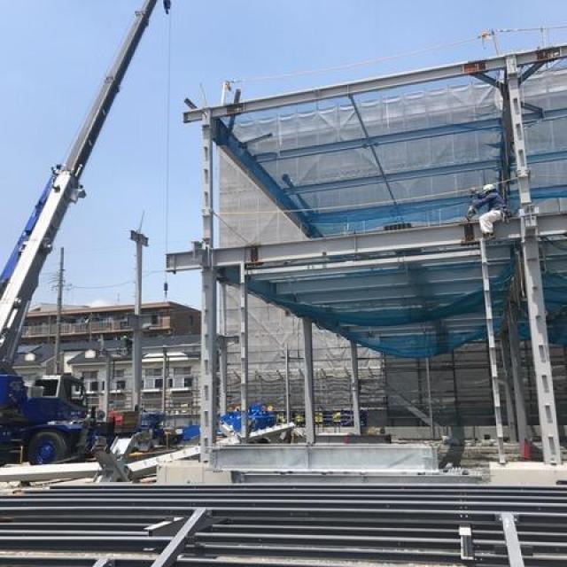 ジャパンビバレッジセントラル安城支店新築工事