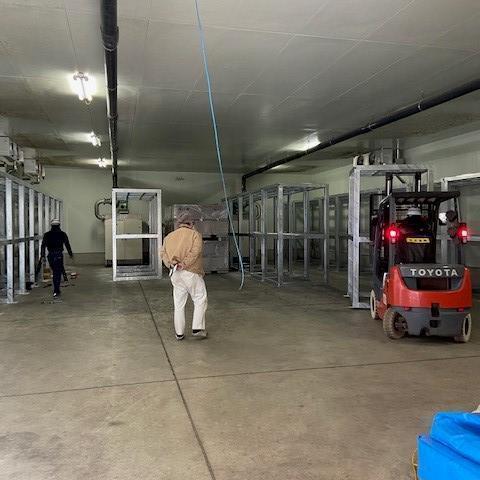 愛知県中央家畜保健衛生所一時保管棚設置工事
